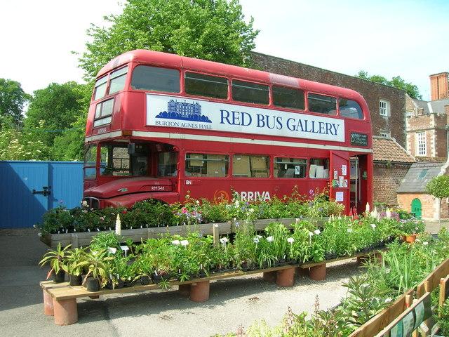 Red Bus Gallery, Burton Agnes Hall