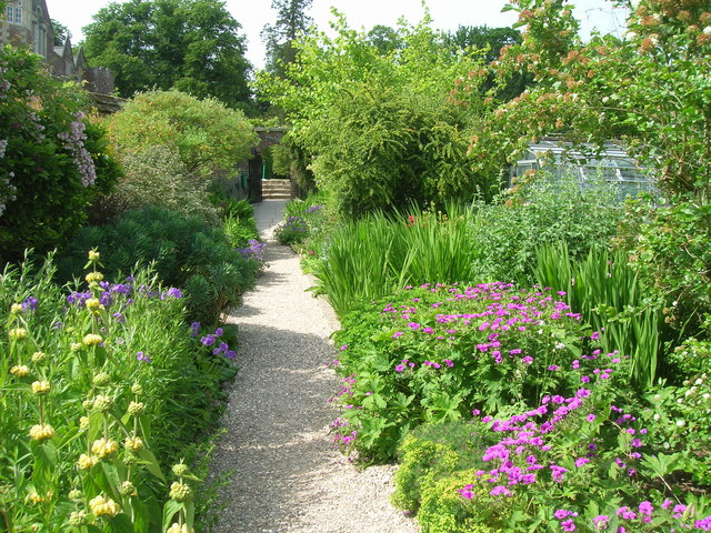 Walled gardens, Burton Agnes Hall