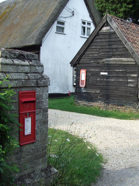 Postbox And Bus Timetable
