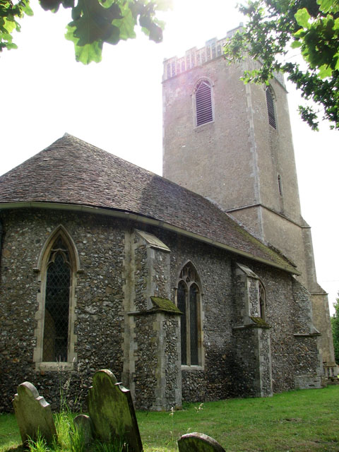 St Andrew's church - the old church in Melton