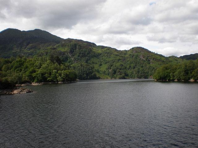 Ben Venue across Loch Katrine