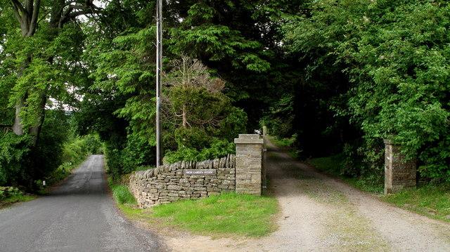 Road Between Baybridge and Hunstanworth