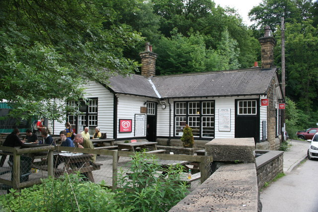 Grindleford Station Cafe, Derbyshire