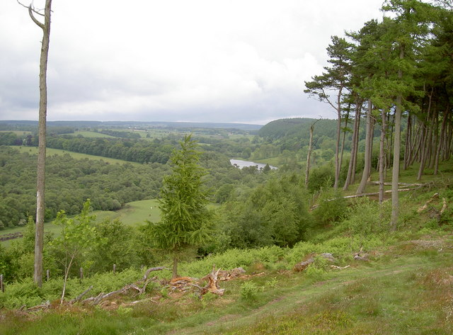 View from the Roman camps towards Rawcliff Banks and Stony Moor