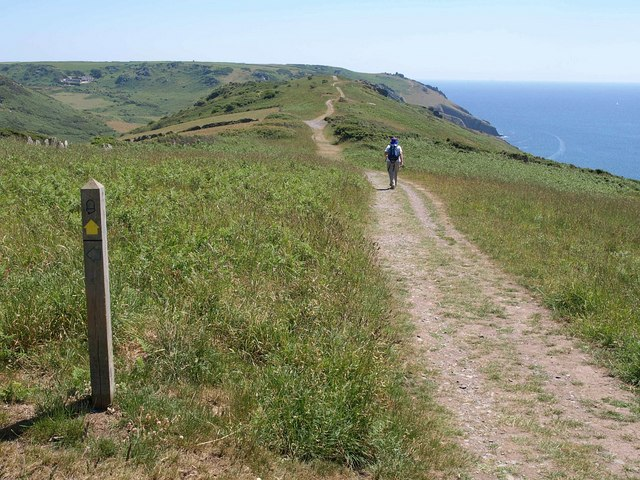 Coast path, West Cliff