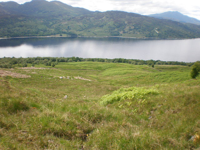 Ben Venue from moorland above Loch Katrine