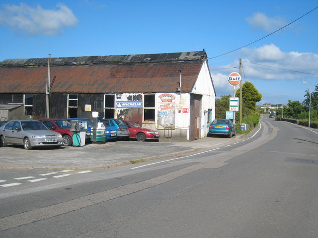 Garage at Newbridge