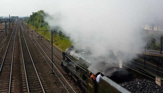 Steaming through Retford