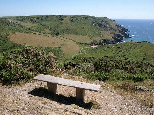 Seat on Cathole Cliff