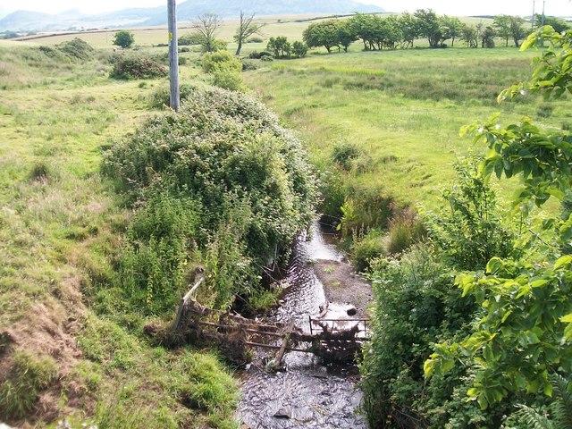 Afon Geirch below Pont Glan-rhyd