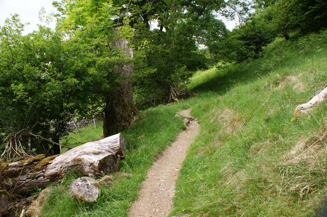 The path to Yockenthwaite