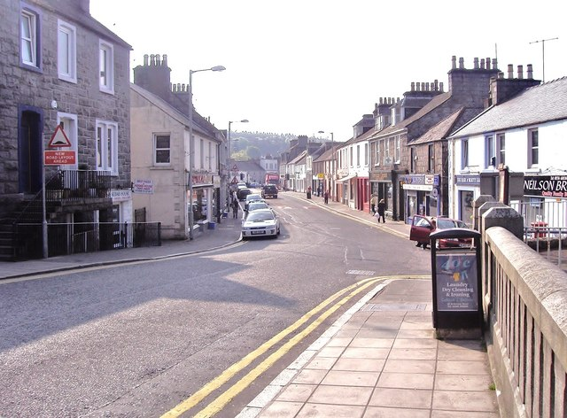 High Street Dalbeattie