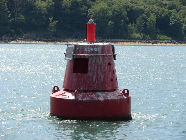 Norris Port Channel Buoy and foreshore