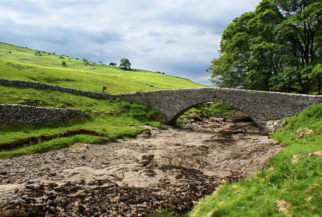 The bridge at Yockenthwaite