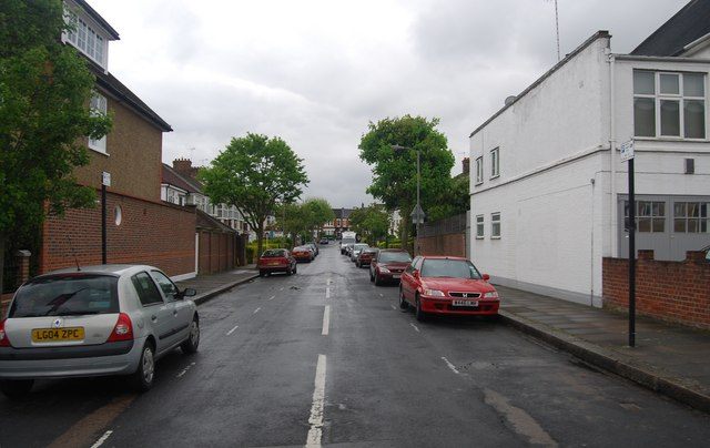 Birchland Avenue off Nightingale Lane