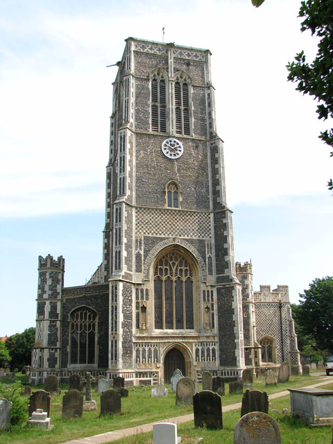 St Edmund's church in Southwold