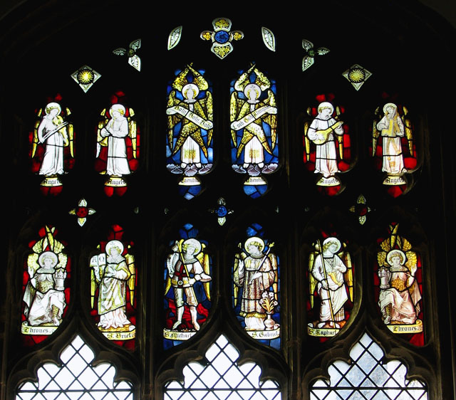 St Edmund's church in Southwold - Victorian stained glass