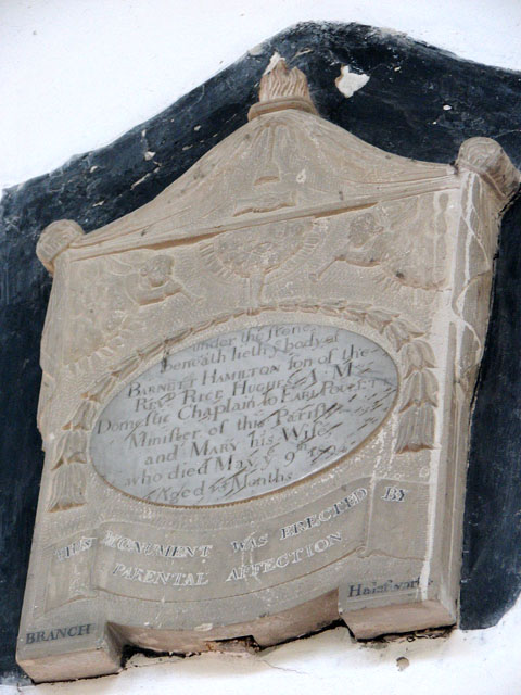 St Edmund's church in Southwold - memorial