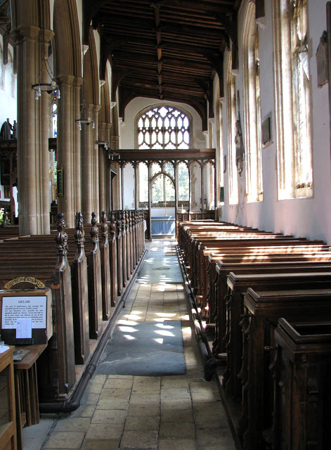 St Edmund's church in Southwold - south aisle