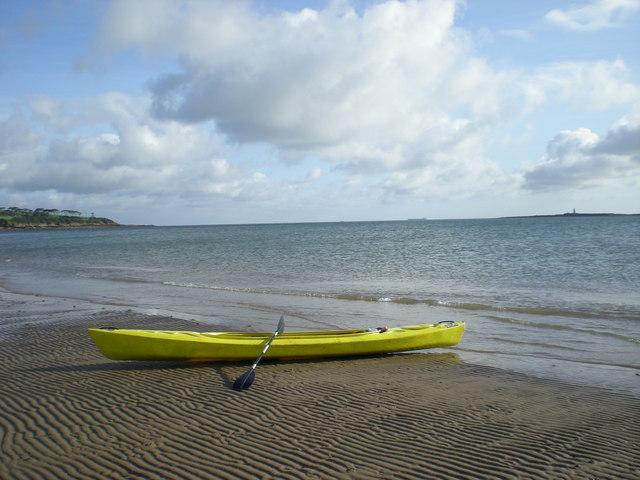 Kayak on Traeth yr Ora