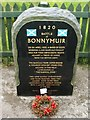 NS8379 : Memorial to Battle of Bonnymuir by Lairich Rig