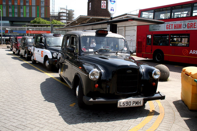 'Fairway' taxi at Tottenham Hale