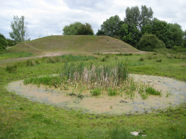 Staines Moor: Former rifle butts