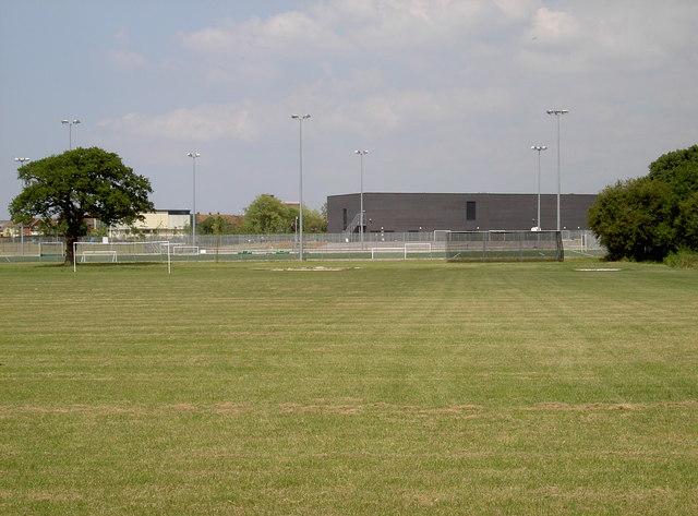 Brislington Enterprise College and playing fields