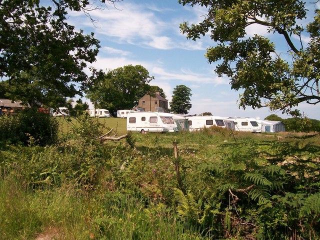 Caravan Park at Henllys Ganol, Llanbedrog