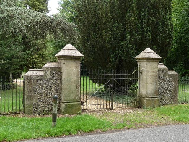 Crawley - Cemetery Gates