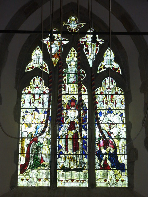 Dunsfold Church, West Window