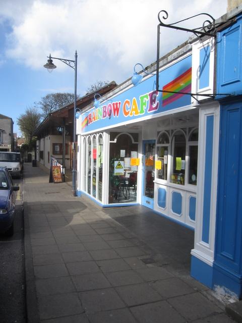 Rainbow Café, John Street, Filey