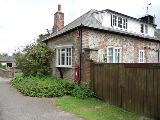 Crawley - House With Post Box