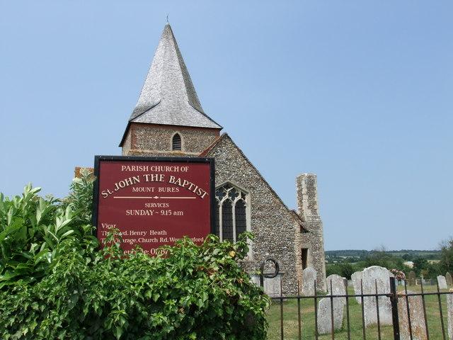 St John the Baptist Church, Mount Bures