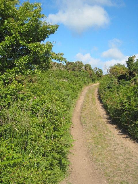 Bridleway between Boswarva and Madron