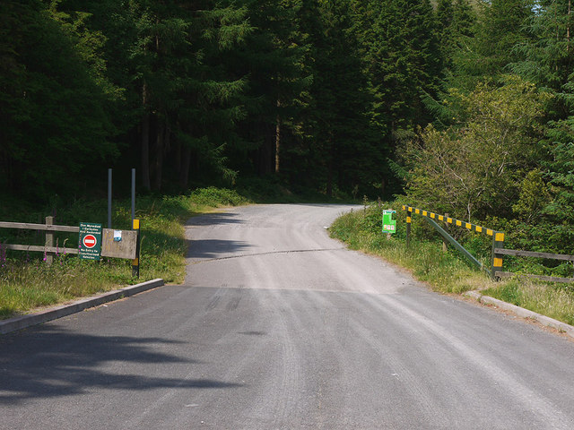 Forestry entrance