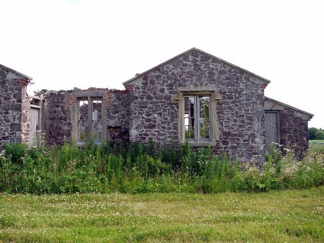 Ruined cottages, Blinkbonny