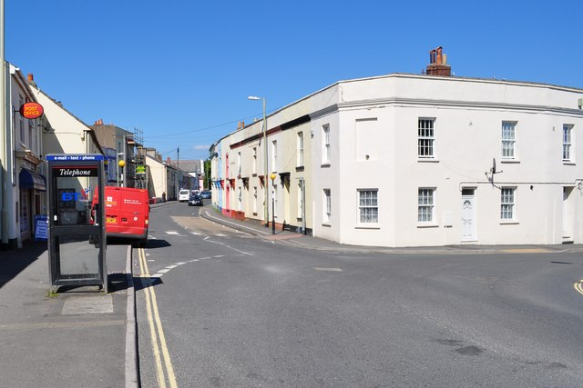 Old Town Leading away from the junction with Meddon Street (right) and Clovelly Road