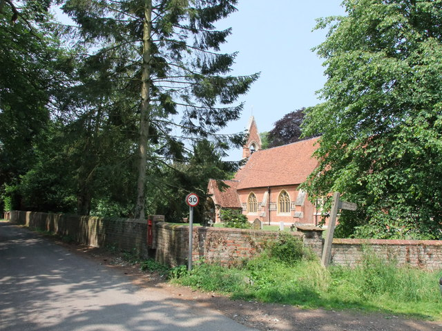 Church in Church Road Twinstead