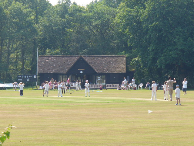 Cricket at Dunsfold