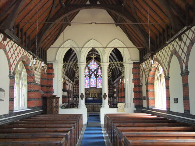 Interior of the Church of St John the Evangelist, Twinstead