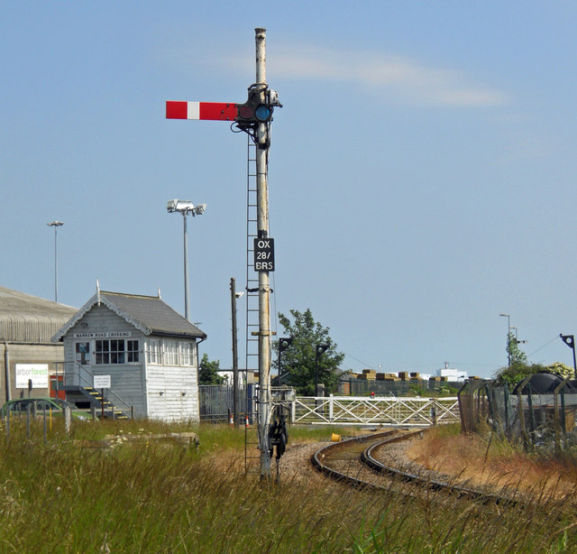 Old Style Railway Signal, New Holland