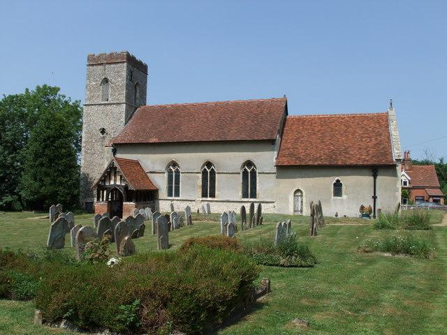 St. Mary's church, Burstall