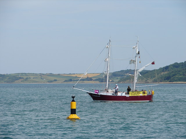 West Cardinal Buoy at mouth of Newtown Creek