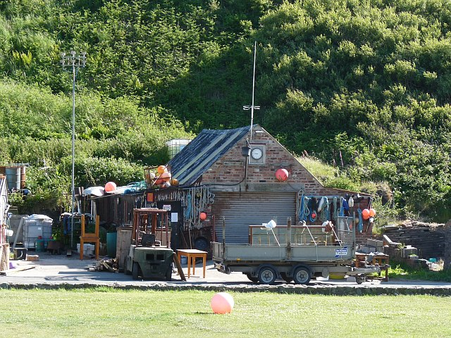 Workshop at Porthgain