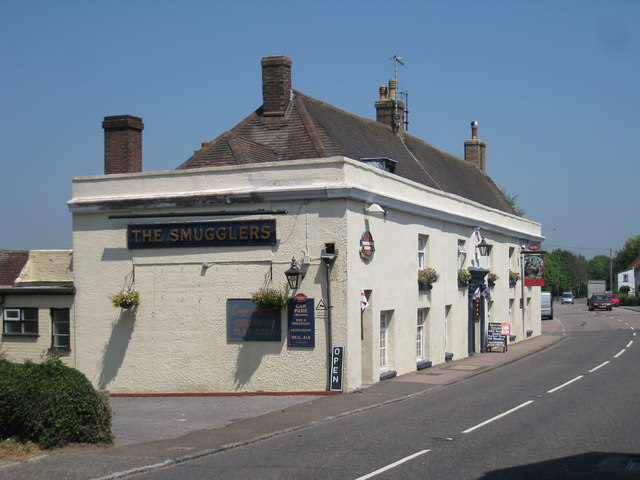 The Smugglers, Pevensey