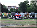 TQ2878 : Indian Elephants at London's Elephant Parade by PAUL FARMER
