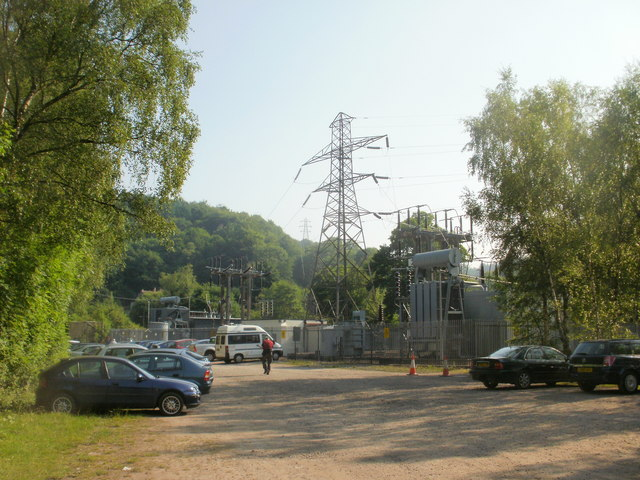 Electricity substation, New Road
