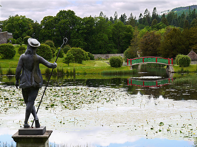 Hercules Garden at Blair Castle