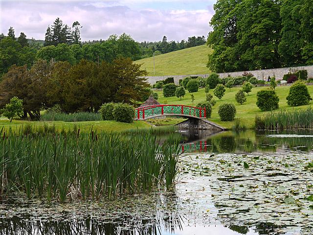 The Chinese Bridge in the Hercules Garden